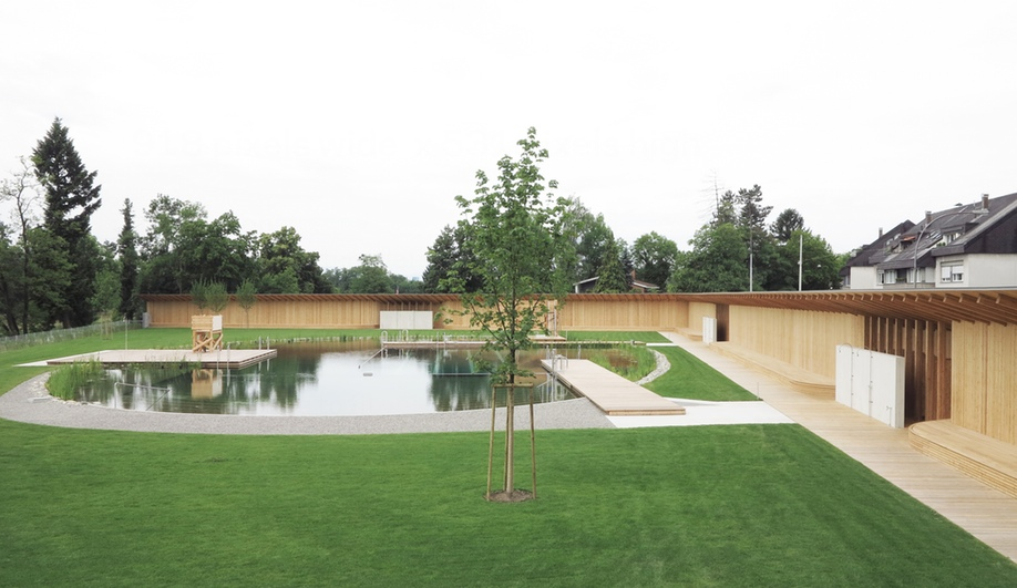Herzog & de Meuron's Chemical-Free Pool in Switzerland