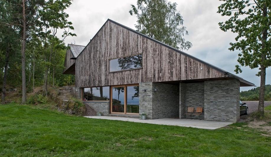 Schjelderup trondahl architects 39 cliff top house in norway - Norwegian wood houses ...