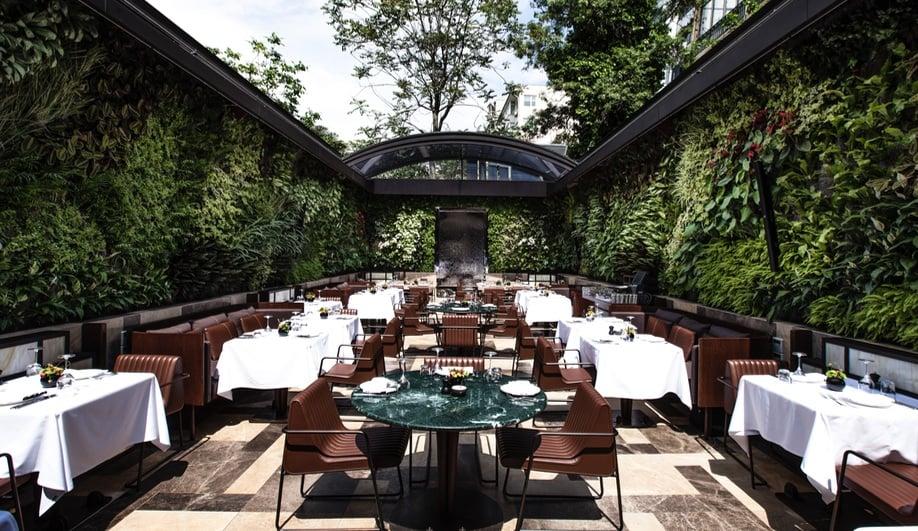 Autoban's Opulent Restaurant in Istanbul