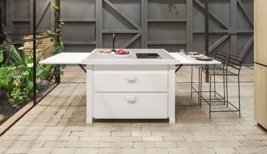 Fantastic kitchen islands with maximum functionality azure