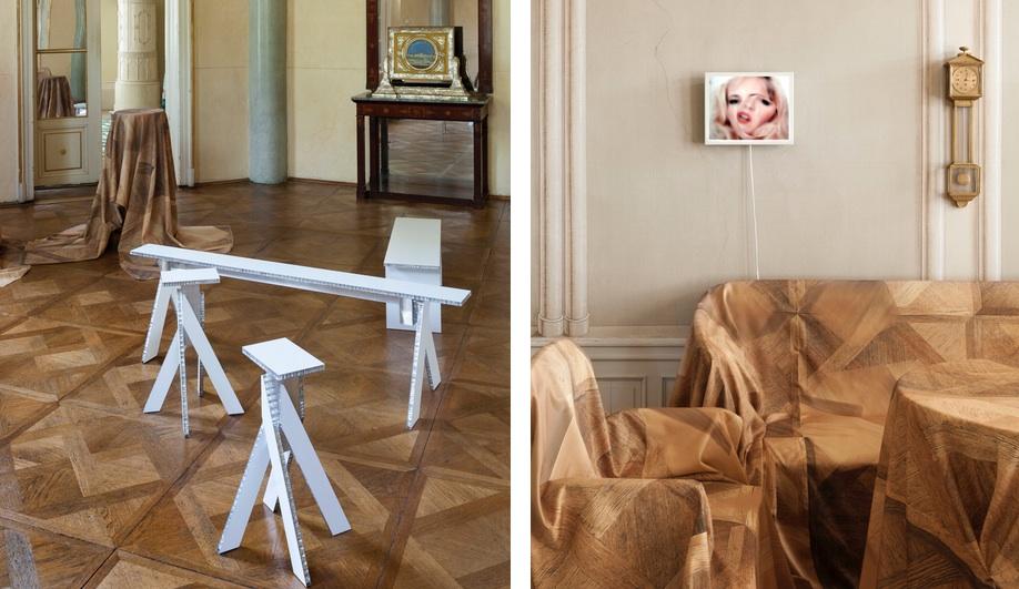 Robert Stadler's textile installation for MAK Design Salon #03