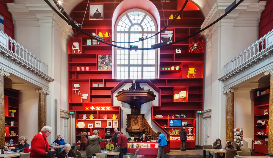 A Vibrant Chapel Conversion in the Netherlands