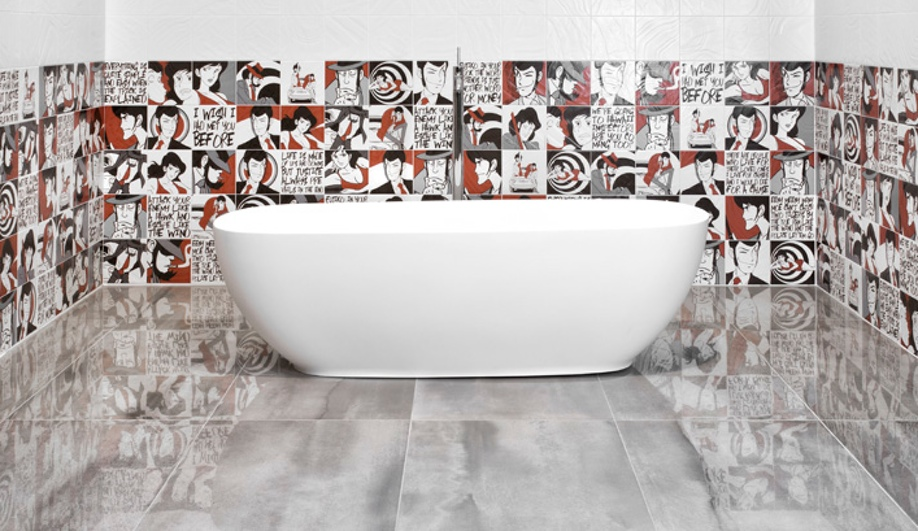 Tiles Go Graphic at Cersaie