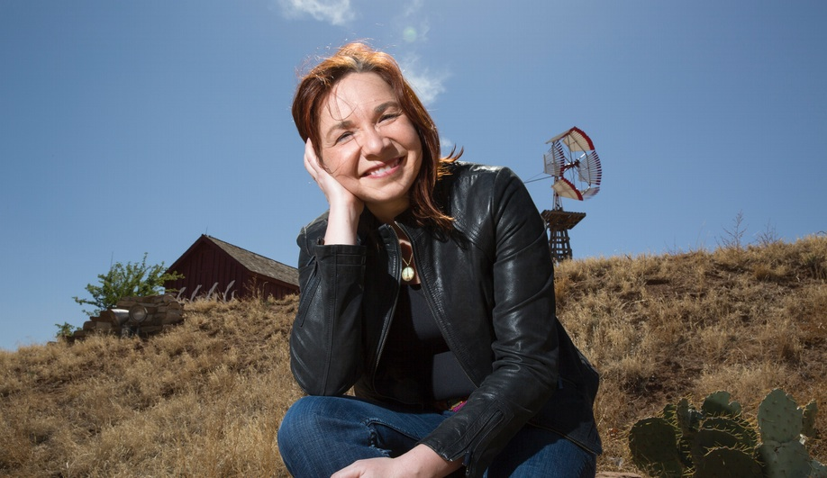 Master series speaker Katharine Hayhoe, director of the Climate Science Center at Texas Tech University.