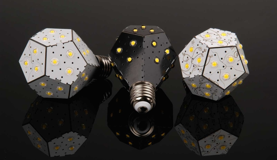 The Nanoleaf, by Tom Rodinger, Gimmy Chu and Christian Yan, is an ultrabright low-energy LED.