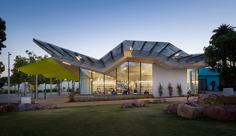 A Community-Engaging Library in Southern California