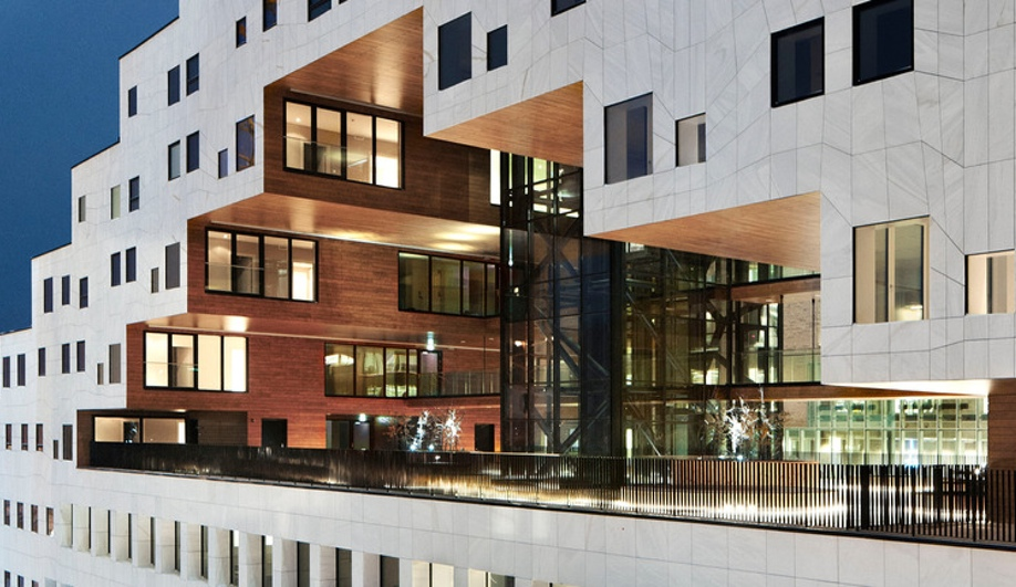 The Carve, a residential project in Oslo by A-Lab, won in Completed Buildings – Housing.
