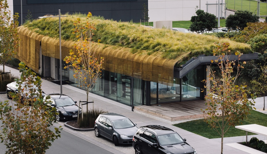 Fearon Hay Architects's The Cloak (or Te Kaitaka) in Auckland won in Completed Buildings – Display.
