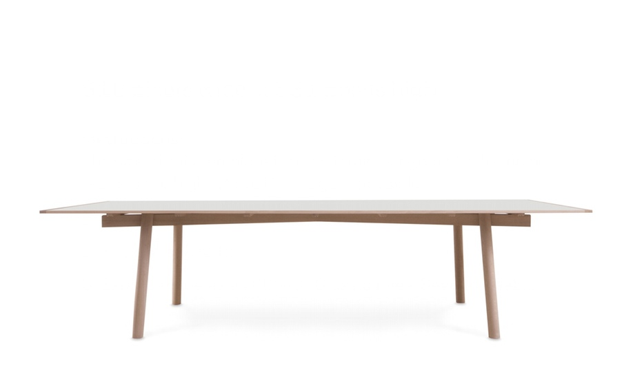 Azure Moca table Interieur 2014