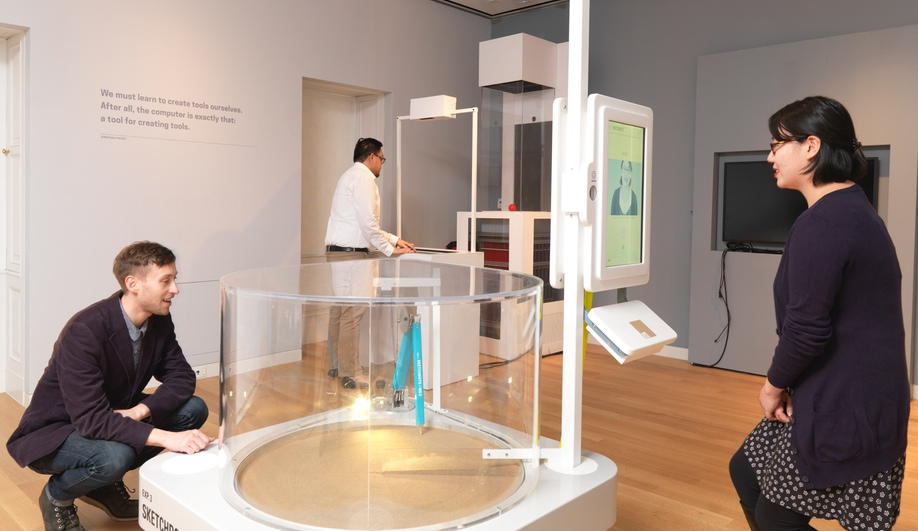 Tools/Extending Our Reach, an exhibit at the newly opened Cooper Hewitt.