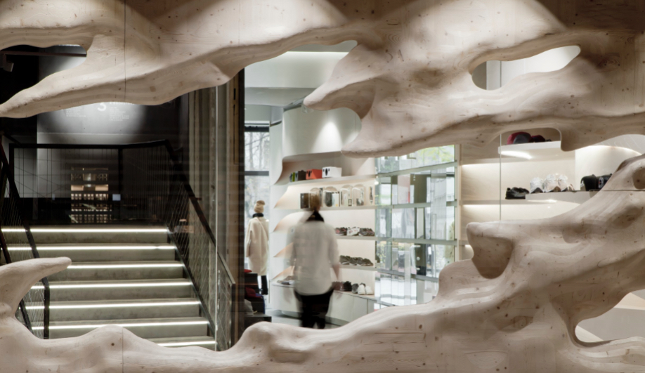 Snøhetta Casts a Spell in an Oslo Fashion Boutique