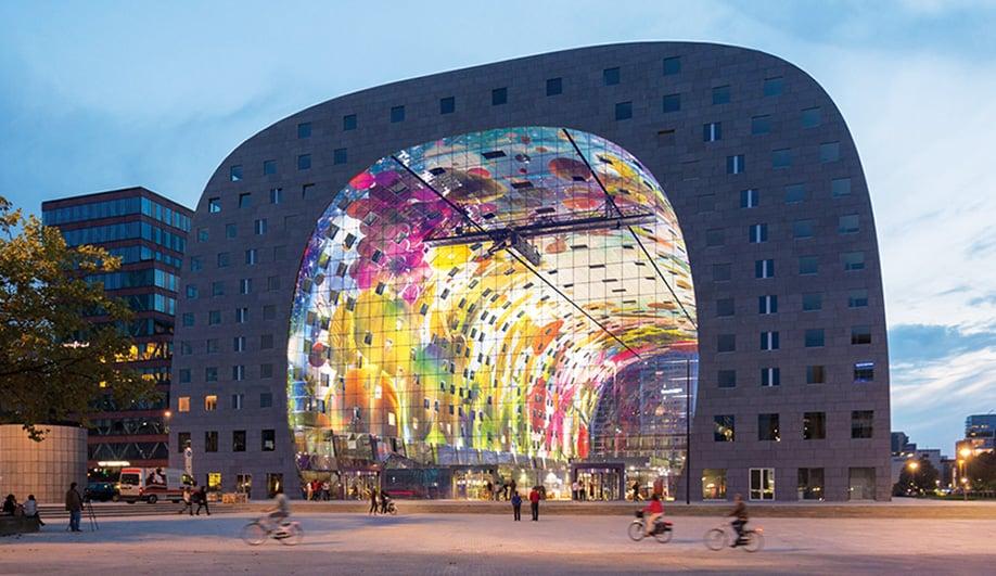 The Marvelous Food Market of Rotterdam