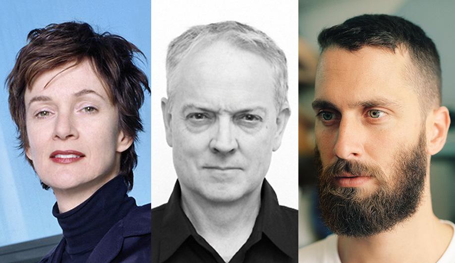 AZ Awards jurors Winka Dubbeldam, Brendan MacFarlane and Philippe Malouin