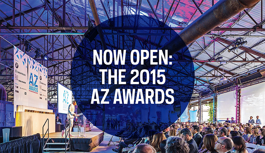 Call for Entries: AZ AWARDS 2015