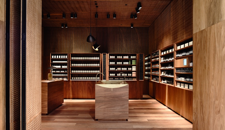 Aesop's Melbourne Outpost Oozes Warmth Through Restraint