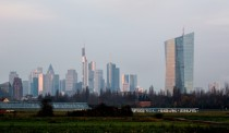 The European Central Bank by Coop Himmelb(l)au