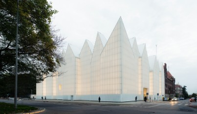 A Philharmonic Hall Glows in Poland