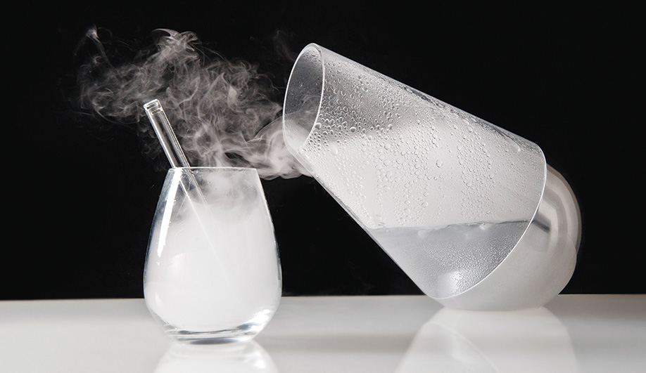LE WHAF: An ultrasonic cocktail you inhale