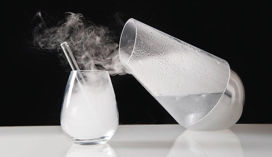 LE WHAF: An ultrasonic cocktail you inhale