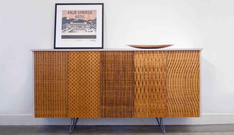 Superbe Bamboo Cabinetry By Semihandmade Of Burbank, California.