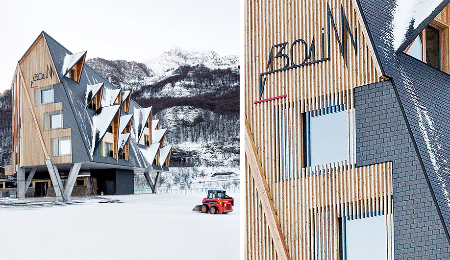 Stunning Ski Resort in Italy's Dolomite Mountains