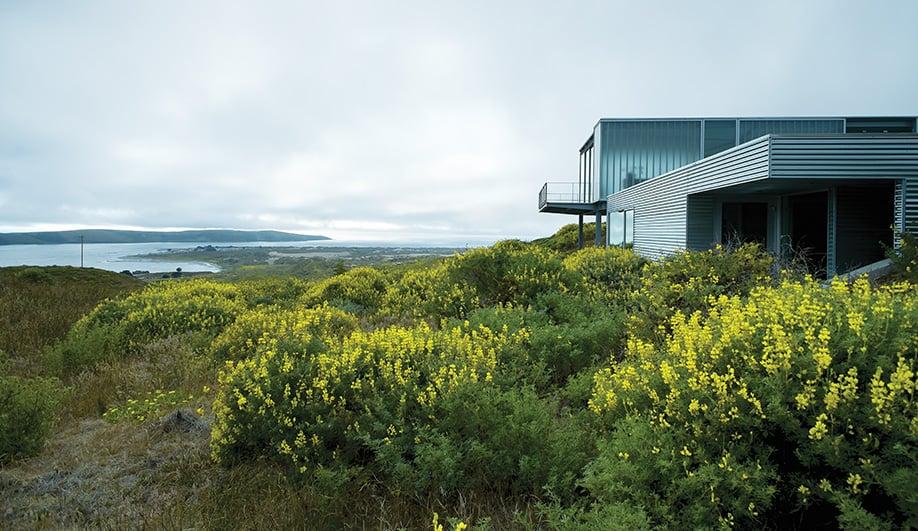 A Glass House Under the Big Blue Sky