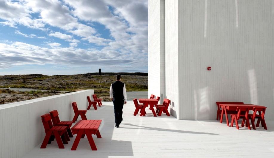 Fogo Island Outdoor Furniture by Ineke Hans Azure Magazine