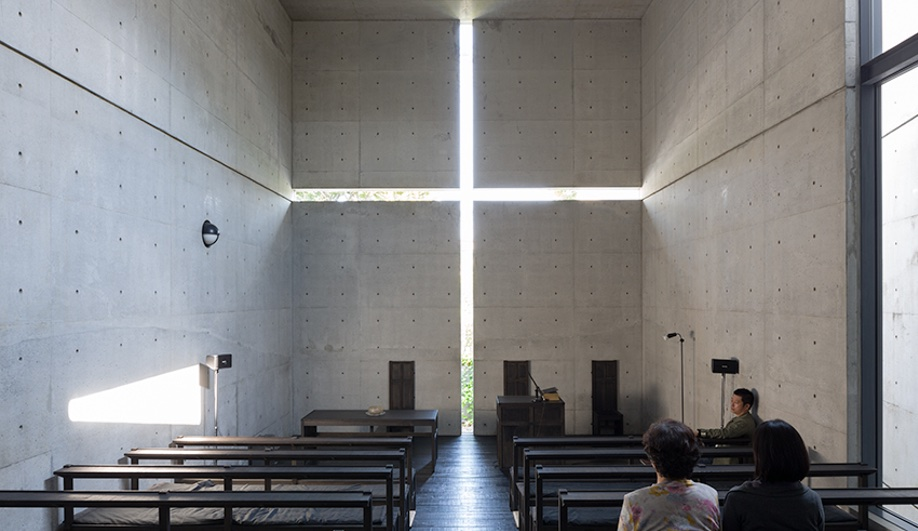 Church of the Light by Tadao Ando in Japan