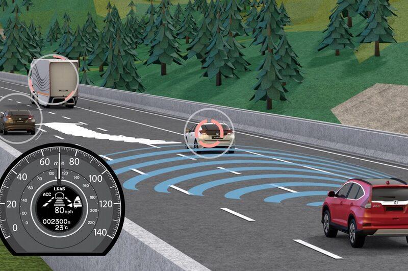 European Honda CR-V offers predictive cruise control