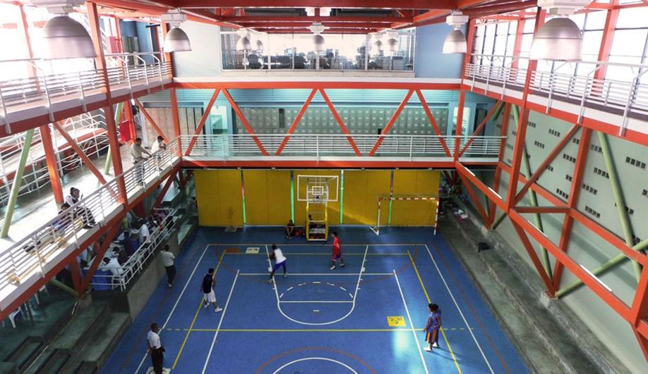 Urban Think Tank vertical gym in Caracas, Venezuela