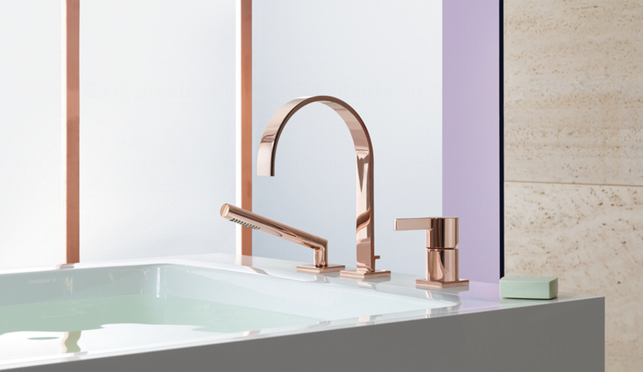 Azure Bathroom Dornbracht taps