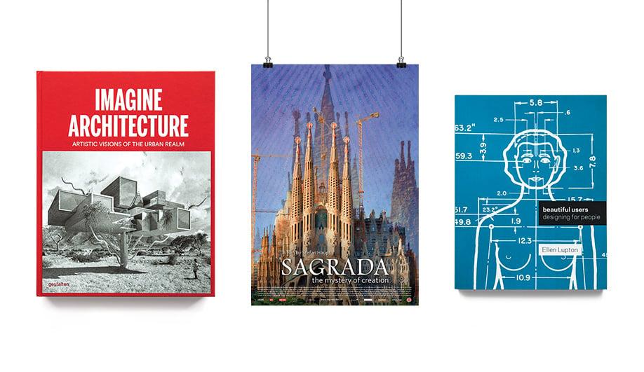 Designer Books: Imagine Architecture, Sagrada and Beautiful Users