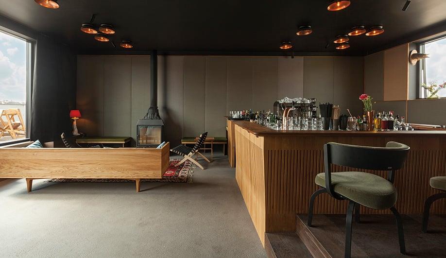 munich 39 s ber stylish pop up hotel azure magazine. Black Bedroom Furniture Sets. Home Design Ideas