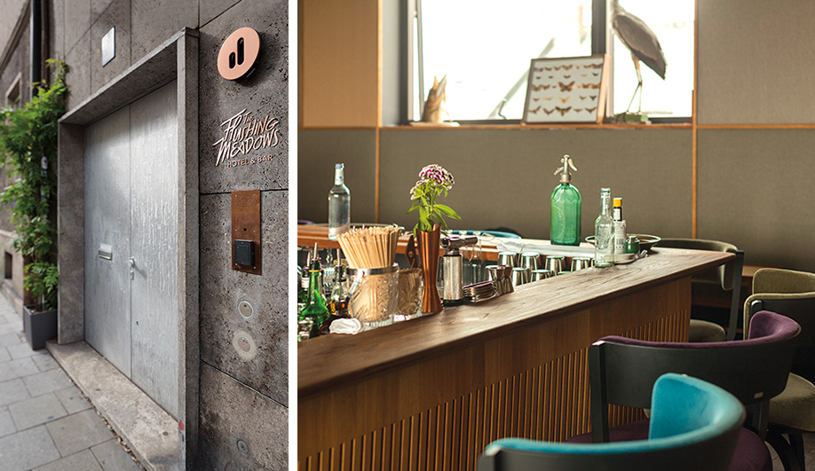 Munich's Über-Stylish Pop-Up Hotel