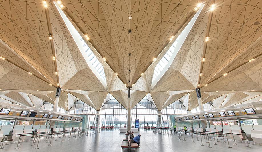 A Multiplanar Airport Terminal in Russia