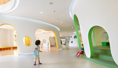 A Tree-Inspired Daycare in Beijing