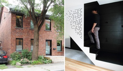 An Old Home in Montreal Gets a Modern Interior