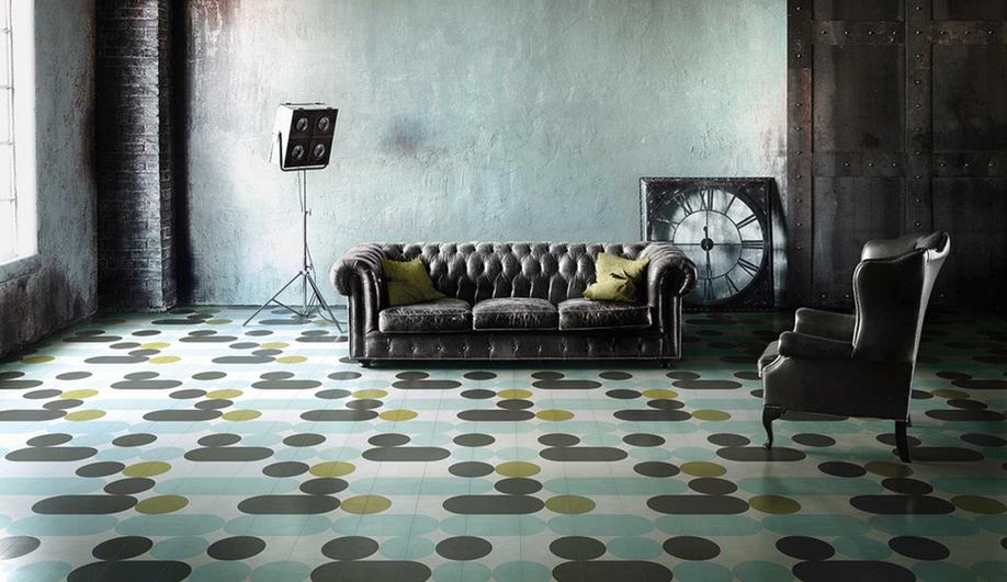 India Mahdavi for Contemporary Cement Tiles