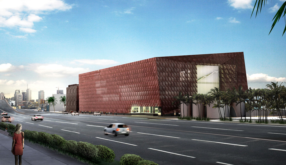 adjaye david architecture projects buildings building designed azure chair seems response deco inspired aishti ve