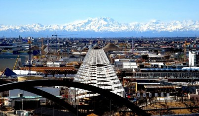 Expo Milano 2015: Five Pavilions on the Rise