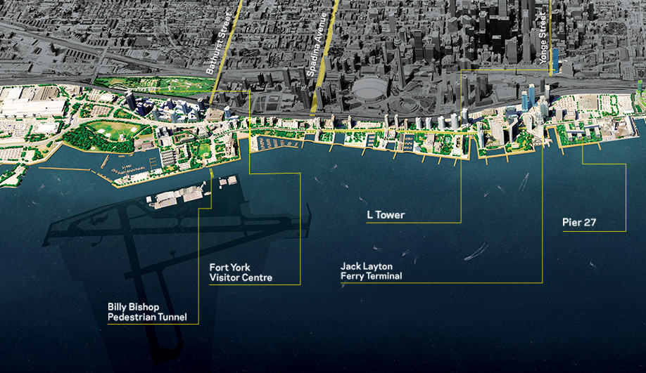 Instant City: 12 New Developments on Toronto's Waterfront