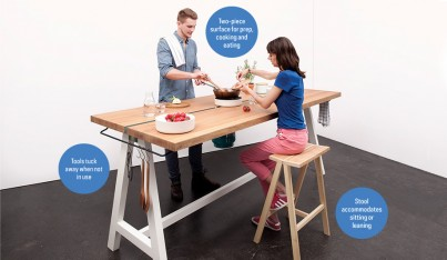 A Kitchen Table That Goes Back to Basics