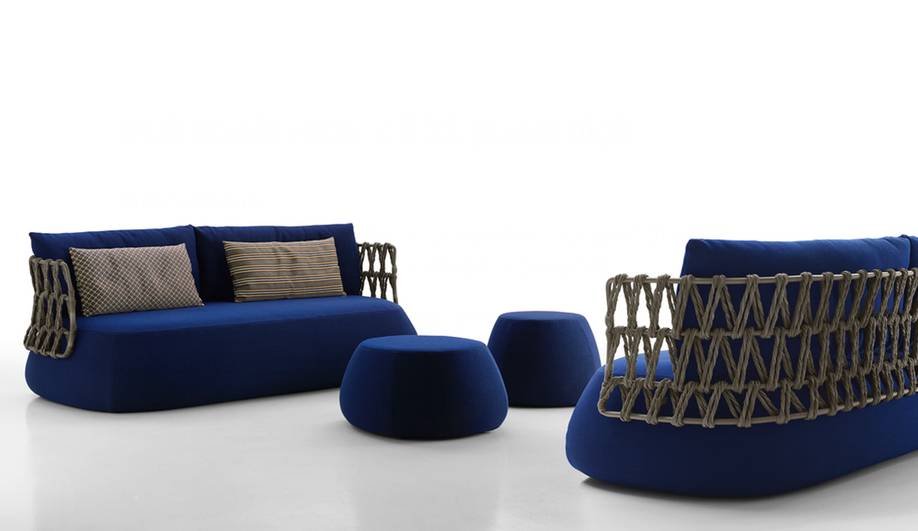 Azure Outdoor Furniture BB Italia