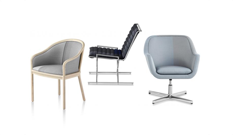 Azure Herman Milller Scholten Baijings seating 1