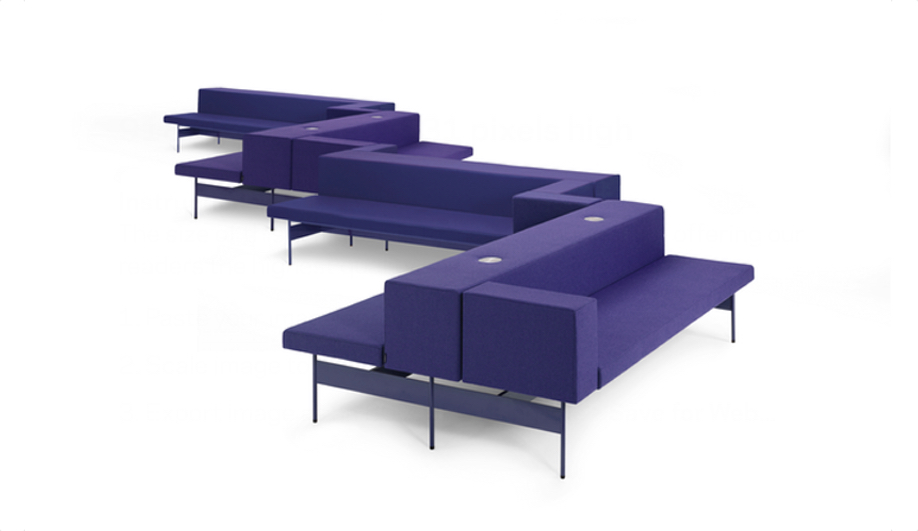 Azure Offecct Gate seating