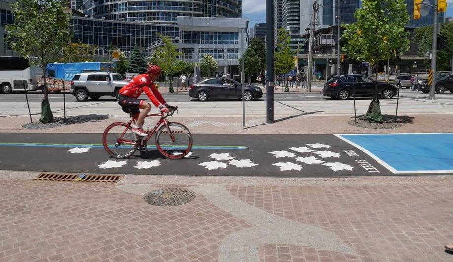 Toronto's Beautiful New Waterfront Boulevard