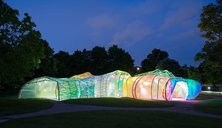 SelgasCano's Luminous Serpentine Pavilion in London
