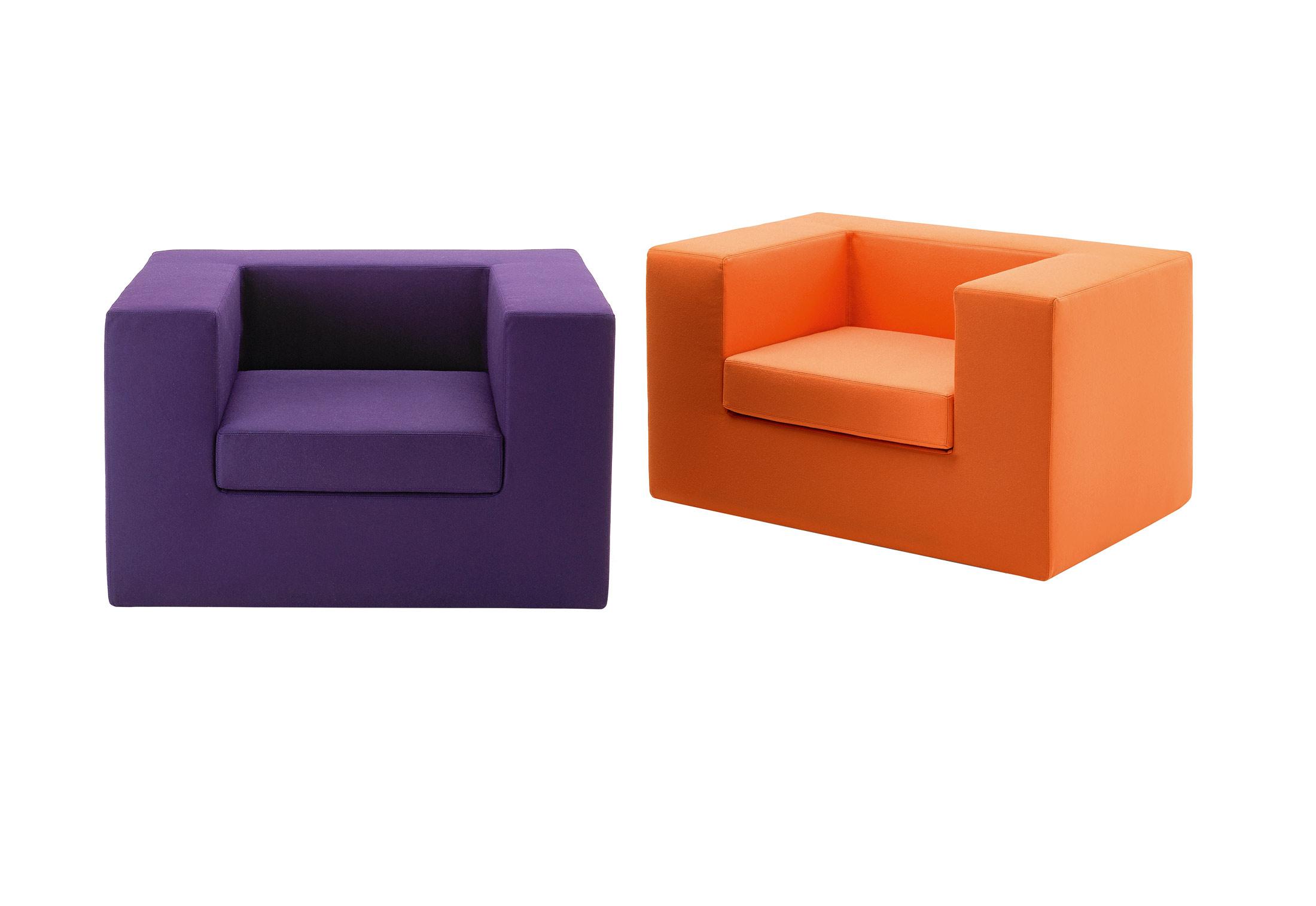 Azure Zanotta Throw Away seating