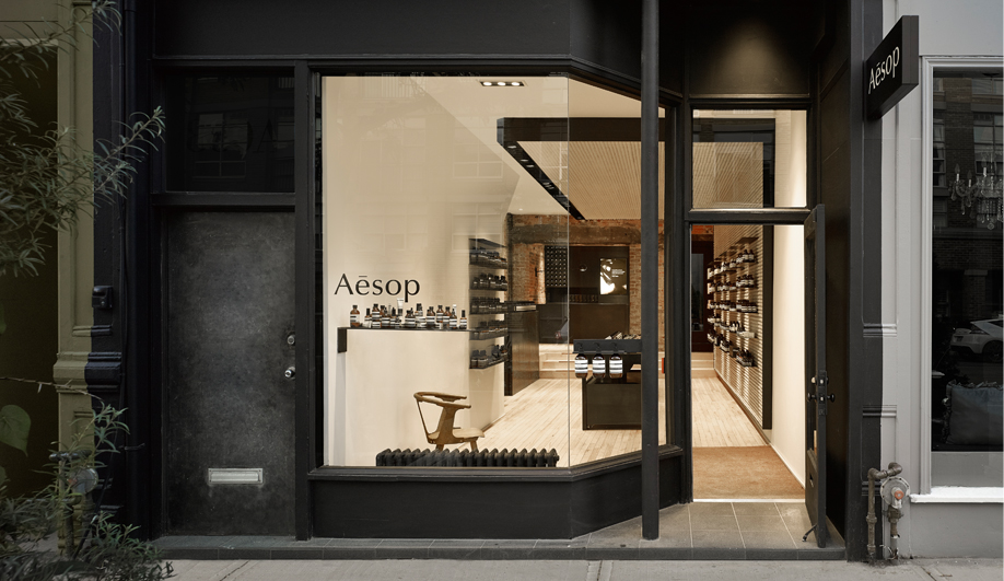 Aesop's Toronto Flagship Exudes Urban-Chic