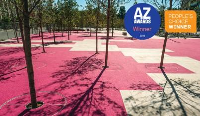 2015 AZ Awards Winner: Best Landscape Architecture